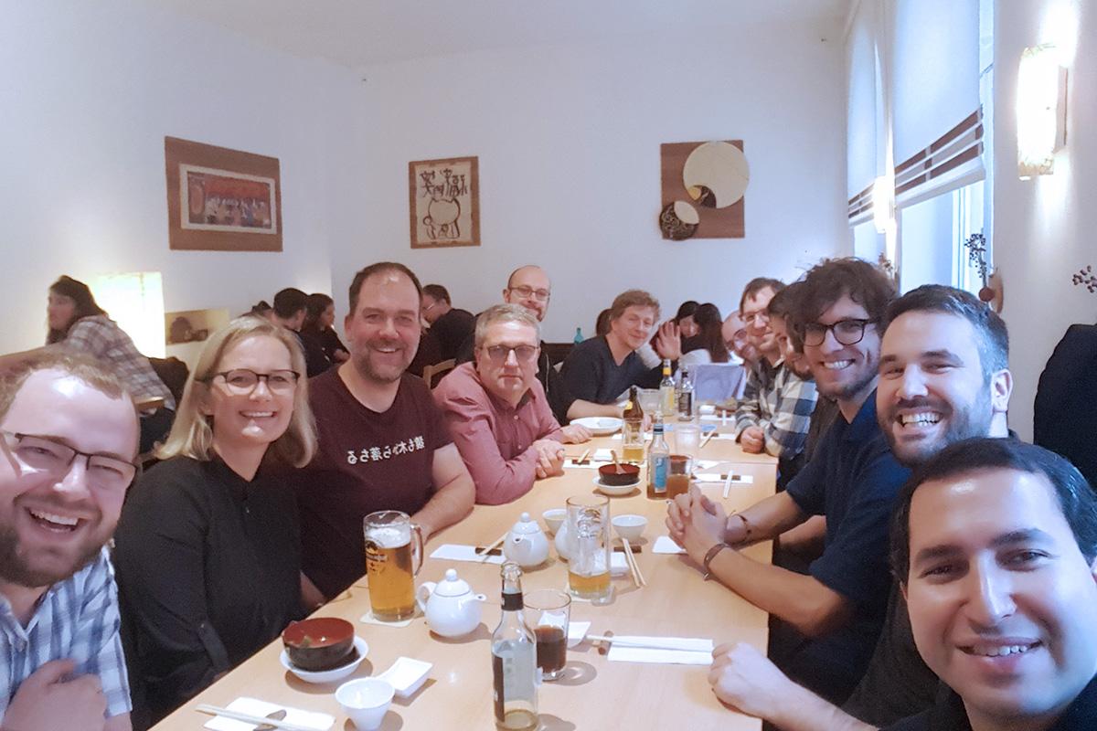 Method Park and Bluefruit Software team members.