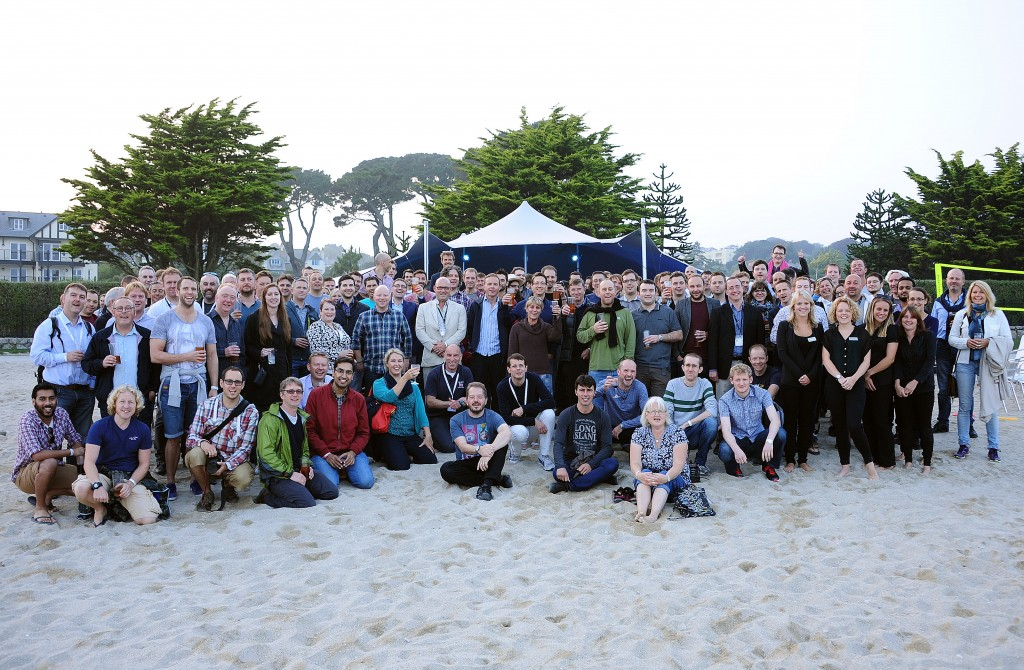 Agile on the Beach group photo