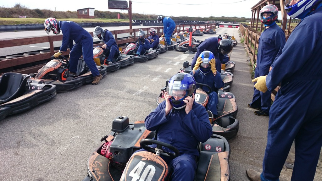 Team day out - Go Karting!