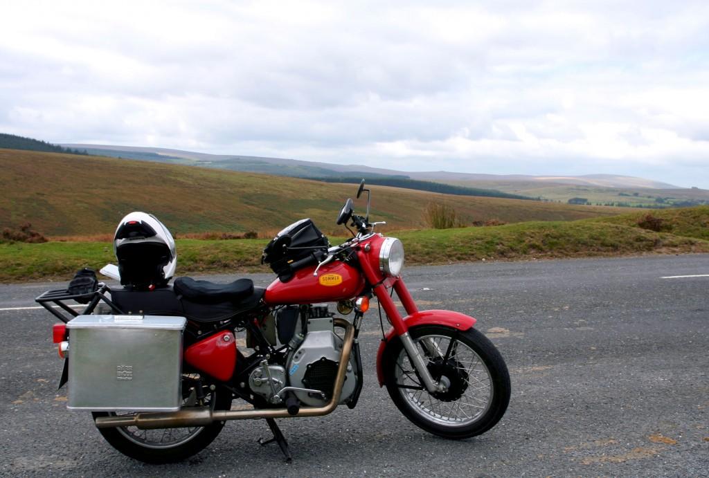 Ebie the motorbike