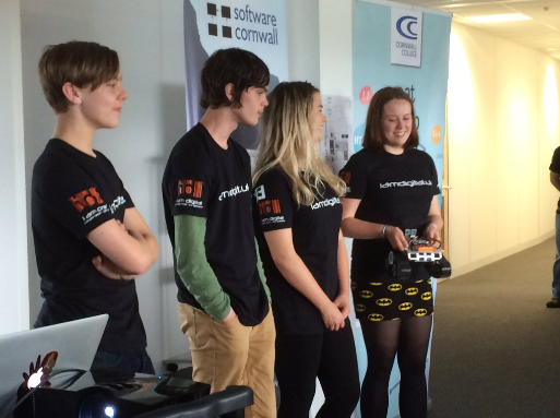 Team presentations at the Mission to Mars event